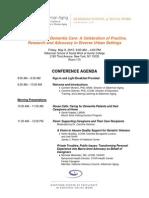 Dementia Care Conference Details