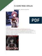 Animes Gore Para Verlas