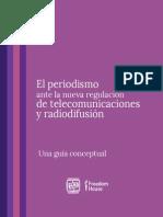 El periodismo ante la nueva regulación de telecomunicaciones