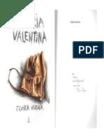 Livro Vitória Valentina