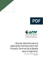 Guía de Referencia Documento Del Proyecto Terminal de La Estadía