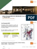 Mercado Inmobiliario al 2015