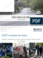 Admiral Way Safety Project