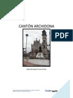 Inventario de a. t. Cantón Archidona