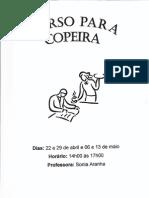 Curso Para Copeira - Brazilian Cookbook