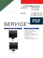 Samsung 713bm 913bm Plus Ch Ls17plm Ls19plm