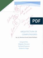 Proycto de Arquitectura de computadores
