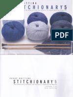 Stitchionary Volume 5 Lace Knitting