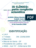 Caso Clinico-cardiopatia Acianótica