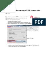 Unir Varios Documentos PDF en Uno Solo