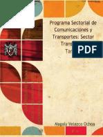 programa sectorial transportes