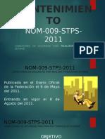 Nom 009 Stps 2011(Presentación)