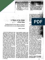 Una teoría del origen del Estado