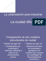 La Urbanizacion Post-Industrial