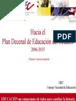 Resumen Plan Decenal
