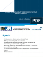 PPT Congreso PMI Vladimir Quiñones 28OCT