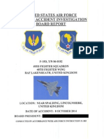 F-15D Spin Accident Investigation
