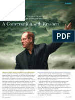 A Conversation With Krashen
