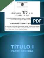 Exposicion Decreto 170 de 2001