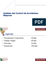 Analisis de Control de Accidentes Mayores