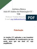 Eletrônica Básica - Análise Polarização DC - TJB