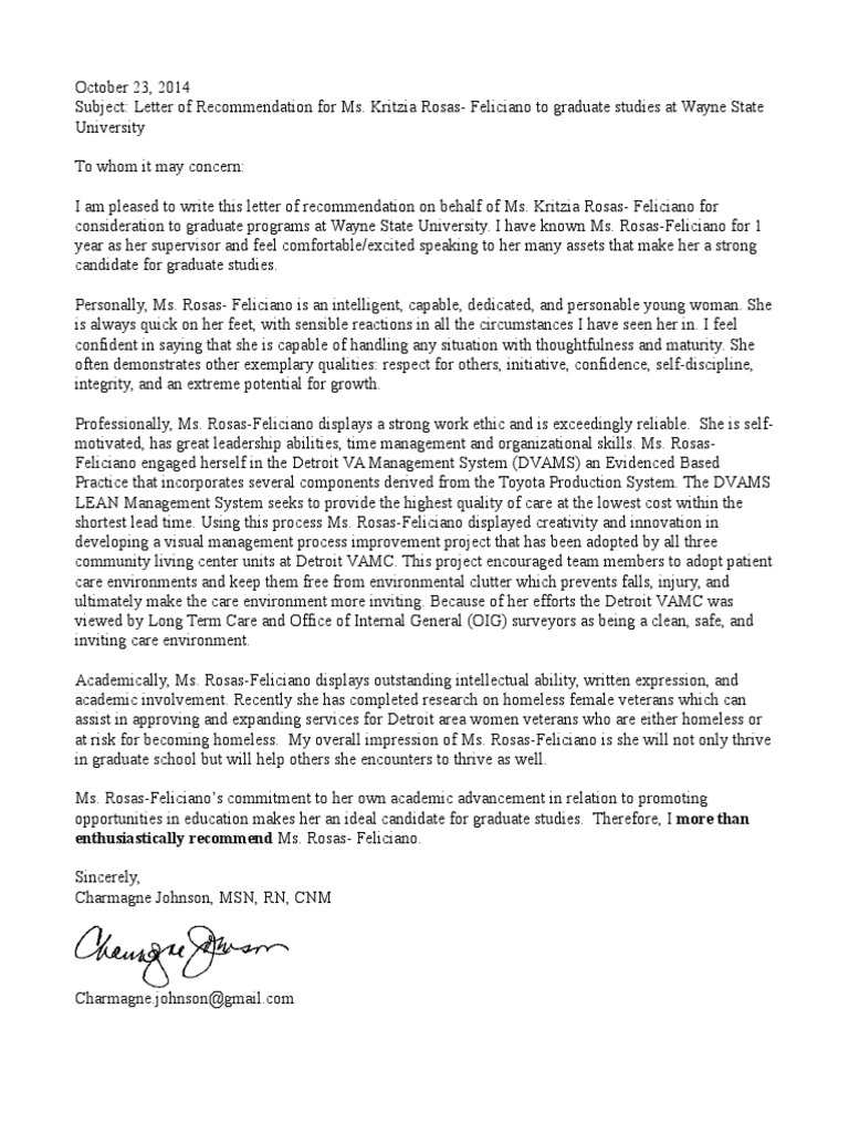 Letter of recommendation for kritzia rosas graduate school letter of recommendation for kritzia rosas graduate school lean manufacturing mitanshu Choice Image