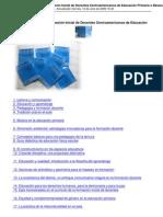 Colección Pedagógica Formación Inicial de Docentes Centroamericanos