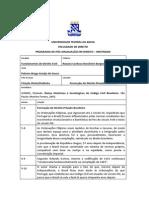 Raízes Históricas e Sociológicas do CC brasileiro