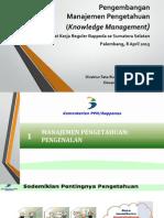 Pengembangan Manajemen Pengetahuan (Knowledge Management)