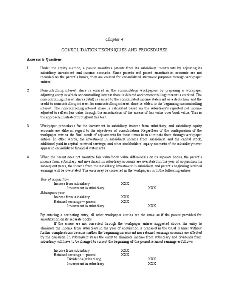 Kunci Jawaban Advanced Accounting Beams 12th Edition Guru Galeri