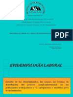 epidemiologia de laboral