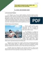 MAJOR ENVIRONMENTAL, SOCIAL AND ECONOMIC ISSUES