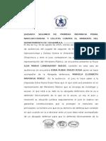 Acta de Primera Declaracion Por El Delito de Portacion Ilegal de Arma de Fuego