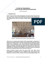 Struktur Transparan Dimensi Baru Dalam Konstruksi Bangunan
