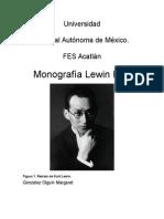 Monografía Lewin Kurt