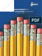 Financiamiento Del Sector Educacion