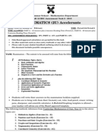 2015Year12accelerantsTask2Mathematics2UnitAssessmentNotice
