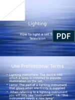 Lighting Power Point