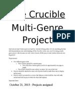 multi-genre project