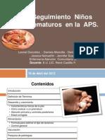 seguimientoniosprematurosenlaaps2013-130522155842-phpapp02