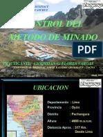 Control de Método de Minado-Iscaycruz