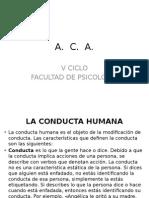 1 Fundamentos del análisis conductual aplicado