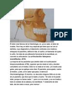 El Dolor Más Famoso de La Odontología