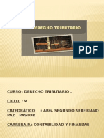 Marco Conseptual Del Derecho Tributario