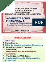 Administracion Financiera 2015 03 25