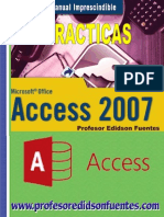 Practicas Microsoft Access 2007