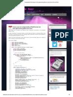 Como Usar El Componente JFileChooser en Java