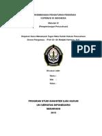 PERKEMBANGAN PENGATURAN PENDIRIAN KOPERASI DI INDONESIA