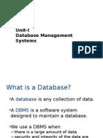unit-I-DBMS
