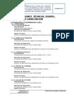 5- Especificaciones Tecnicas Equipo y Mobilario Mazo